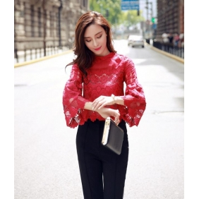 Wholesale R.J.Story fashion blouse RJ1614 Red