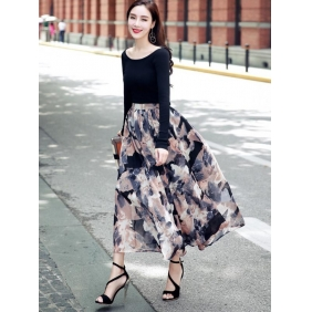 Wholesale R.J.Story chiffon long skirt RJ1615