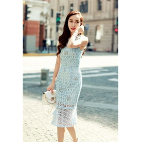Wholesale R.J.Story fashion dress RJ1618 Blue