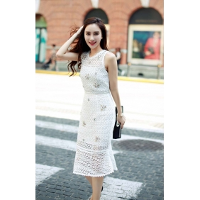 Wholesale R.J.Story fashion dress RJ1618 White