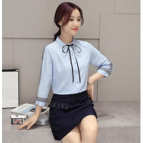 Wholesale Fashion blouse B3097 Blue