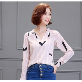 Wholesale Fashion blouse B3099 Pink