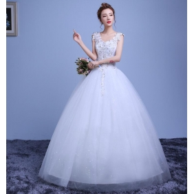 Wholesale Fashion wedding dress 35231 White
