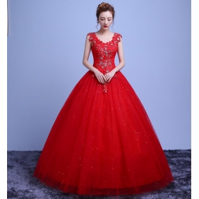 Wholesale Fashion wedding dress 35231 Red