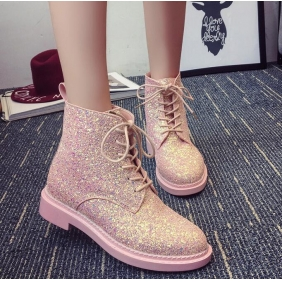 Wholesale Fashion boots J90614 Pink