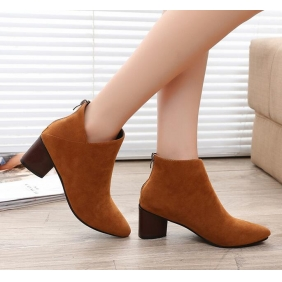 Wholesale Fashion boots J90619 Brown