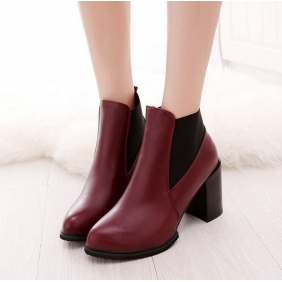 Wholesale Fashion boots J90623 Red