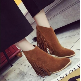 Wholesale Fashion boots J90624 Brown