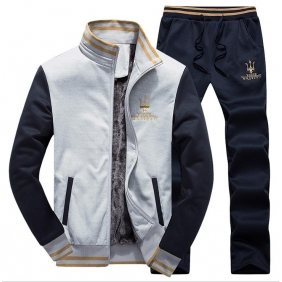 Wholesale Fashion man\'s tracksuit  T10523 Gray
