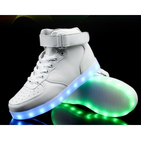 Wholesale Sport shoes with the light J91149 White
