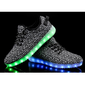Wholesale Sport shoes with the light J91151 Gray
