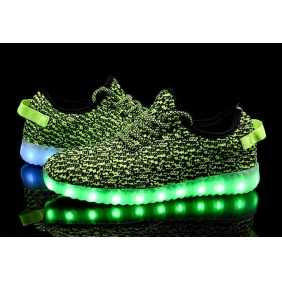 Wholesale Sport shoes with the light J91151 Green