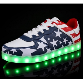 Wholesale Sport shoes with the light J91152 Navy blue
