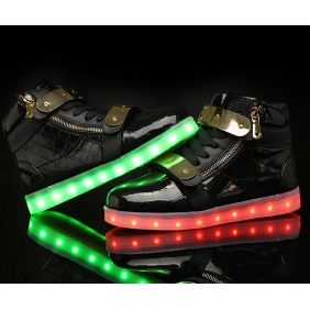 Wholesale Sport shoes with the light J91153 Black