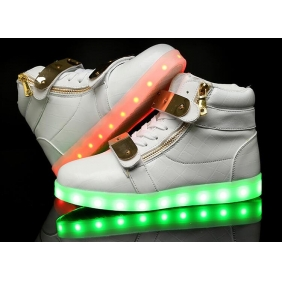 Wholesale Sport shoes with the light J91153 White
