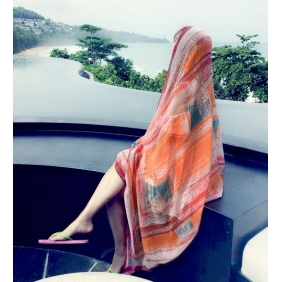 Wholesale Scarf cover R1504