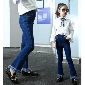 Wholesale Fashion kids jean pants PQ2147