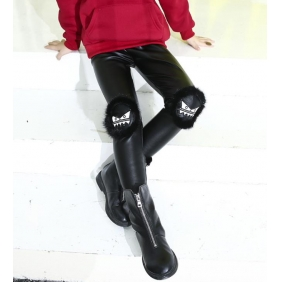 Wholesale Fashion kids PU pants PQ2150