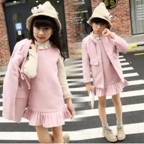 Wholesale Kids 2-piece set dress PQ2192