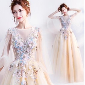 Wholesale Fashion long prom dress 50612
