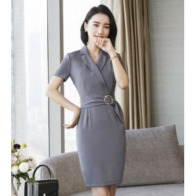 Wholesale One-piece office dress S2200