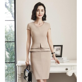 Wholesale One-piece office dress S2202