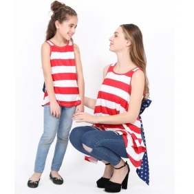 Wholesale Parent-child blouse AU1084 Girl