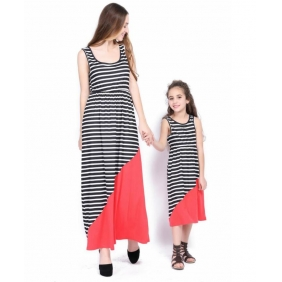 Wholesale Parent-child dress AU1087 Woman
