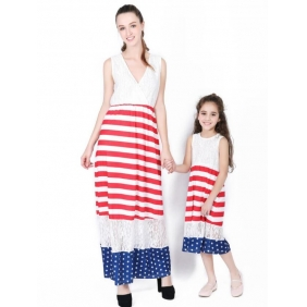 Wholesale Paretn-child dress AU1088 Woman
