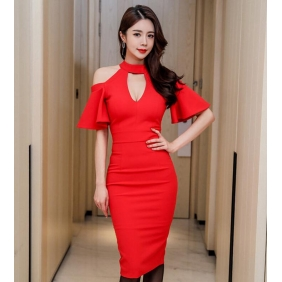Wholesale Fashion dress K3887