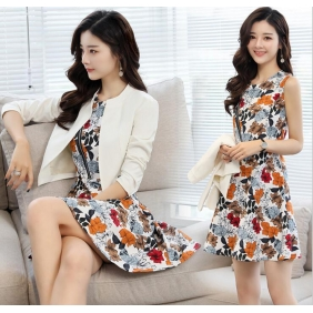 Wholesale Fashion 2-piece set dress B3560