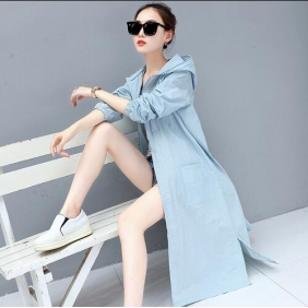 Wholesale Fashion long jacket W5541