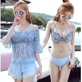 Wholesale 4-piece set swimwear R1563