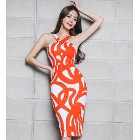 Wholesale Fashion dress K4229
