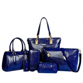 Wholesale 6-Piece set bags 19516