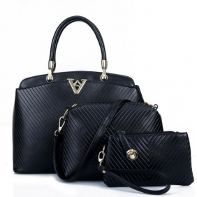 Wholesale 3-Piece set bags 19520