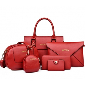 Wholesale 6-Piece set bags 19526