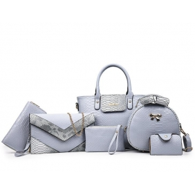 Wholesale 6-Piece set bags 19542
