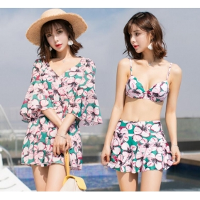 Wholesale 3-piece set swimwear R1613
