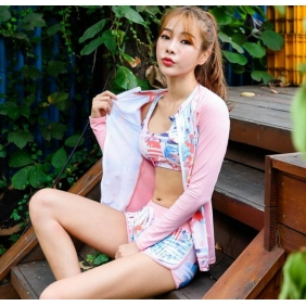 Wholesale 3-piece set swimwear R1631