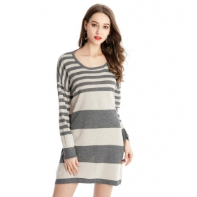 Wholesale Fahsion long sweater dress C1600