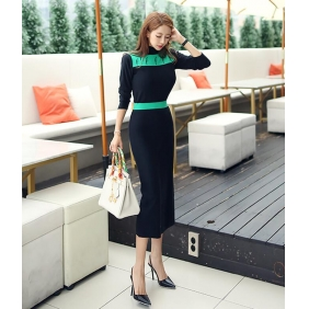 Wholesale Fashion knit dress K4944