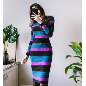 Wholesale Fashion knit dress K5102