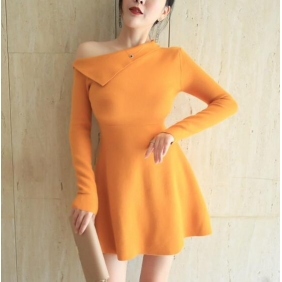 Wholesale Fashion knit dress 10867