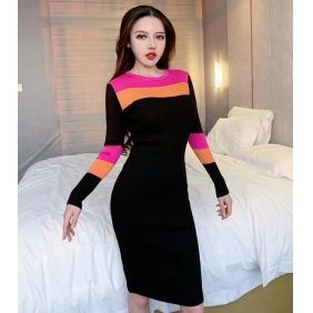 Wholesale Fashion knit dress A19713
