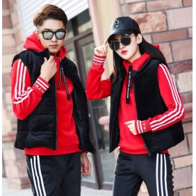 Wholesale 3-Piece set winter tracksuit T10926 Woman