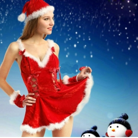 Wholesale Christmas costumes SD2075