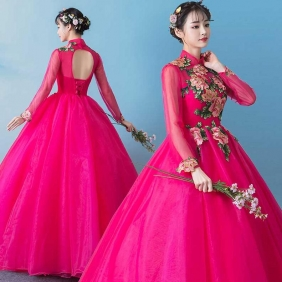 Wholesale Long prom dress 50826