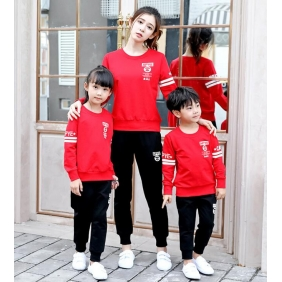 Wholesale Parent-child clothing AU1098 Woman
