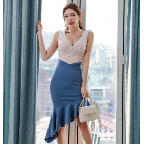 Wholesale Fashion dress K5719